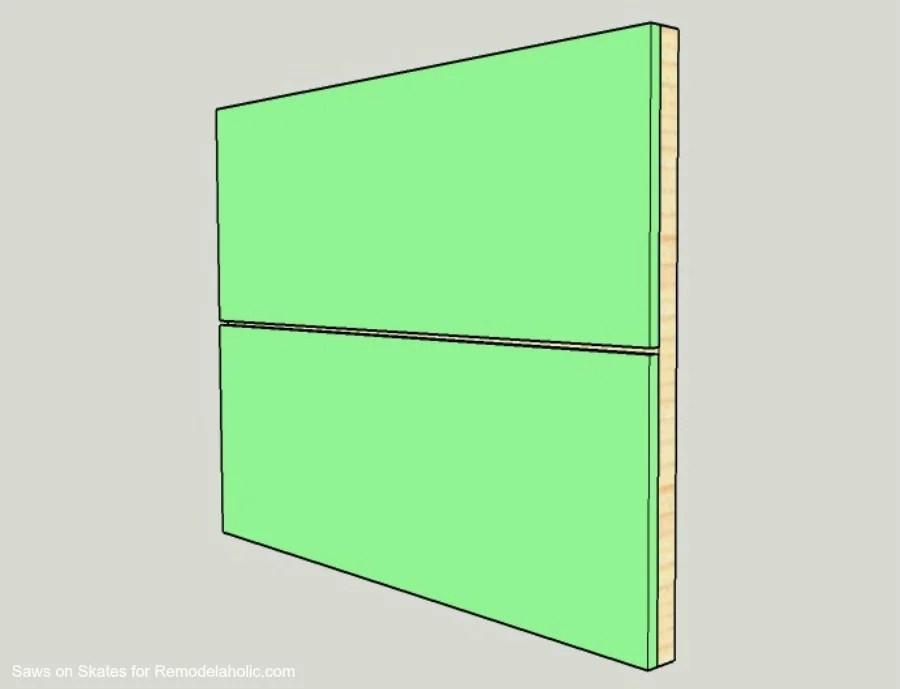 Ikea Hack Vanity Saws On Skates Door Assembly 1