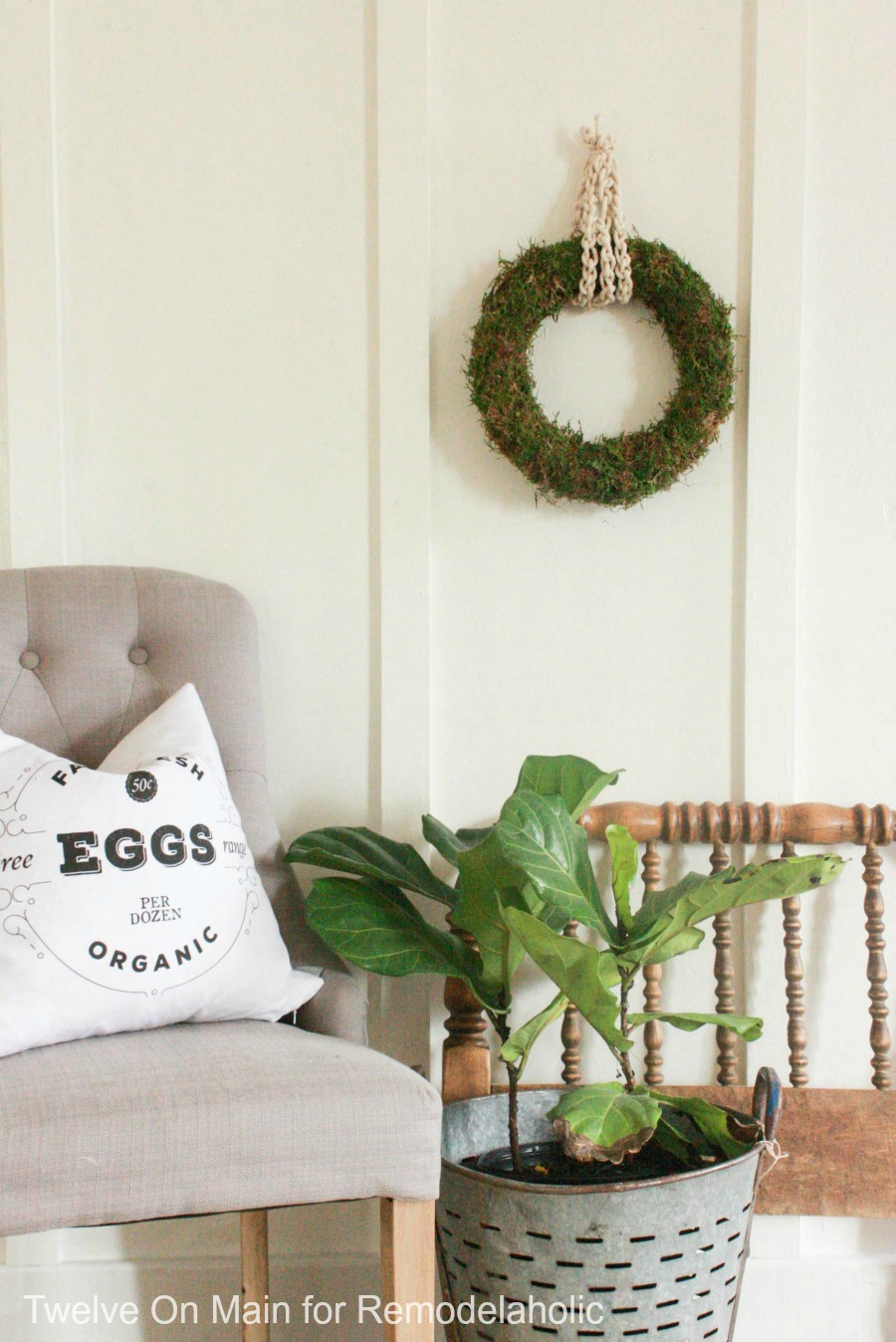 There Are So Many Great Ways To Decorate Walls. I Love This DIY Floor To