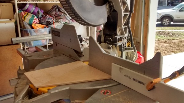 Miter Saw To Cut Thin Plywood @Remodelaholic