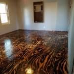 Plywood Sheet Flooring, Bob Schoenfelder, Burned Plywood Floor, Featured On @Remodelaholic