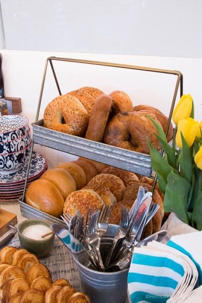 Bagel Buffet Bar Mother's Day 9