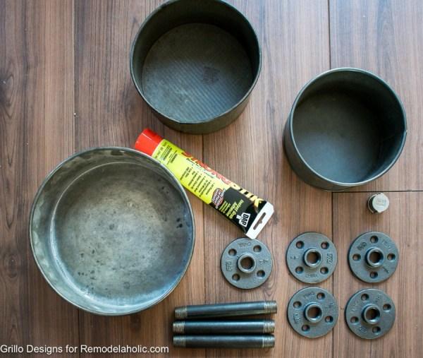 Diy Tiered Baking Tin Stand