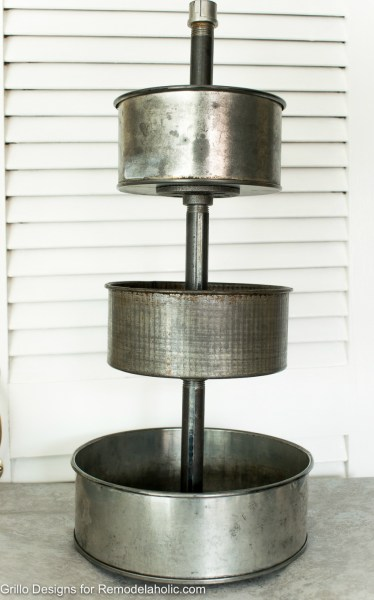 Industrial Tiered Stand Grillo Designs 1