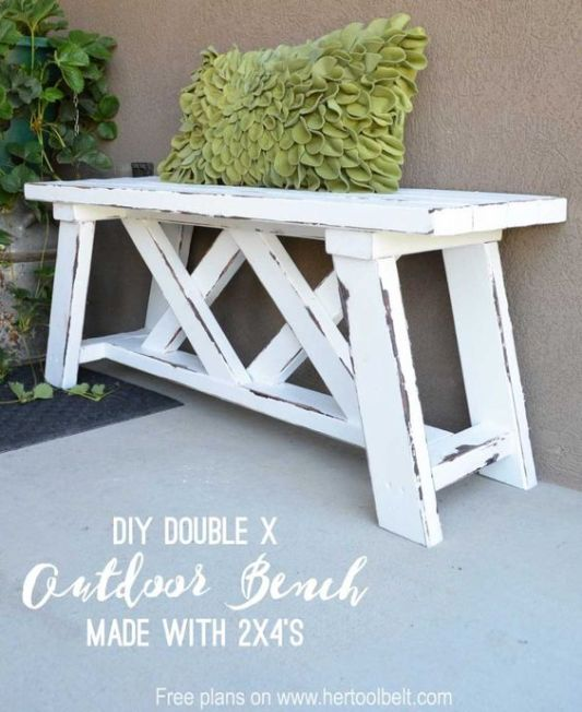 2x4 Wood Projects Her Tool Belt (bench)