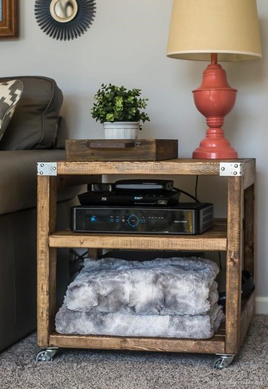 easy sofa table diy tudor williams sofas remodelaholic | 20 2x4 wood projects