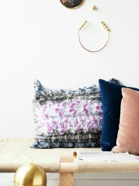 DIY Bohemian No Sew Pillow Tutorial @monsterscircus