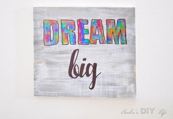 Kids Room Decor Idea Deco Foil Anikas DIY Life 9 700