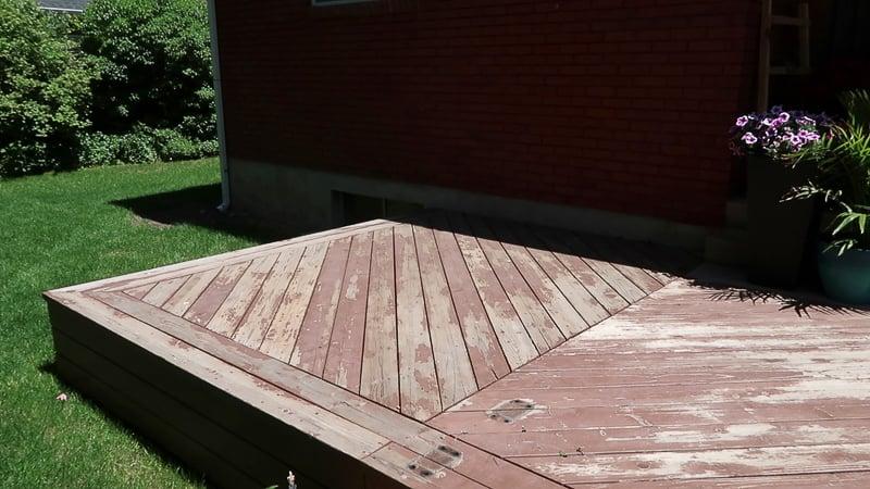 Modern Deck Pergola @Remodelaholic 2