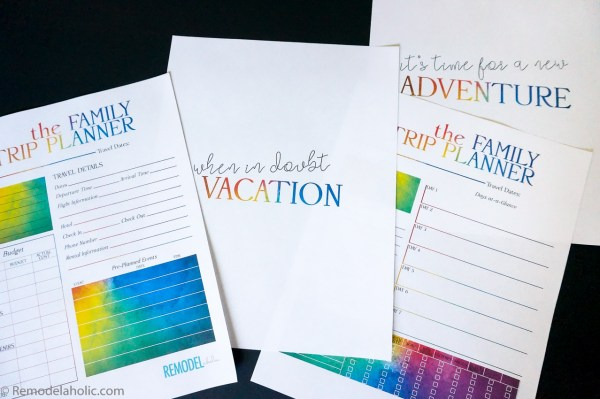 Family Vacation Printable Pack Planner Shirts And Countdown @remodelaholic (3)