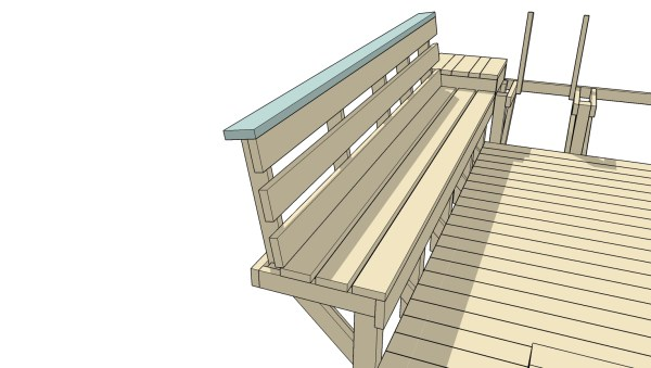 Free Building Plan and Tutorial: Space-Saving Built-in Deck Benches and Tables @Remodelaholic