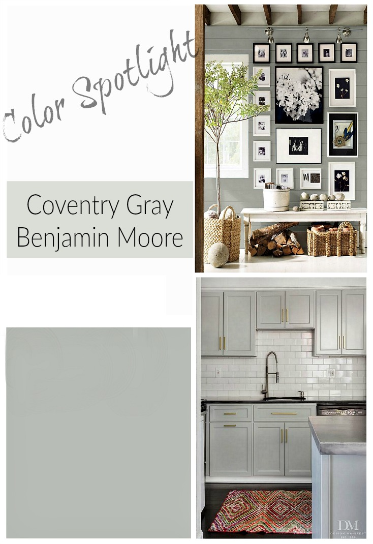 Remodelaholic | Color Spotlight: Benjamin Moore Coventry Gray