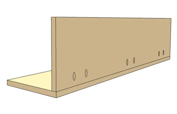 DIY Wall Shelf Building Plan Apieceofrainbow (2)