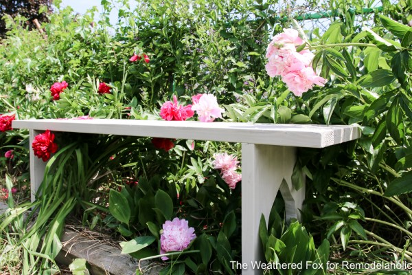 Easy Farmhouse Bench From Inexpensive Lumber Remodelaholic The Weathered Fox 3