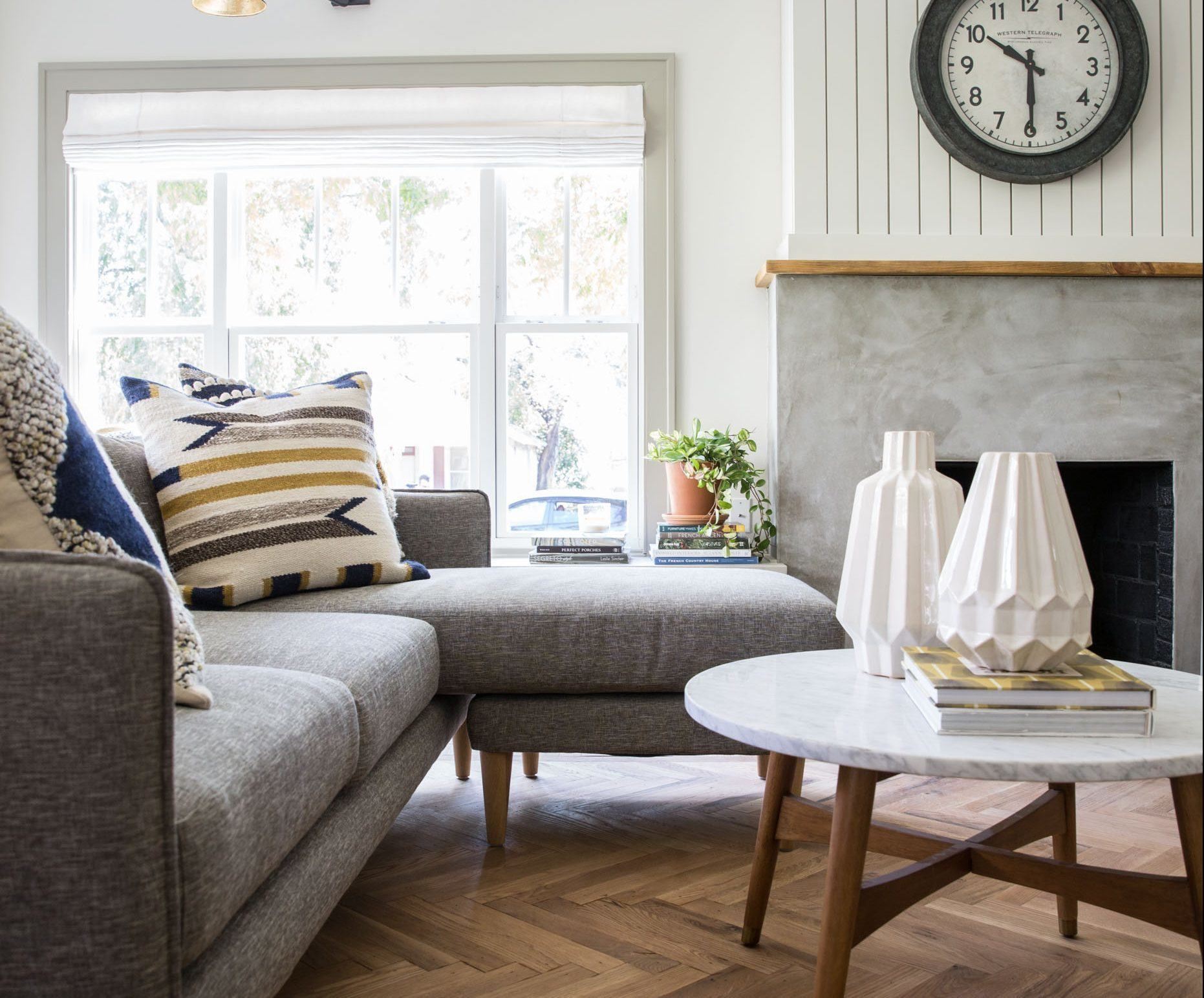 Get This Look: Fixer Upper Giraffe House Living Room
