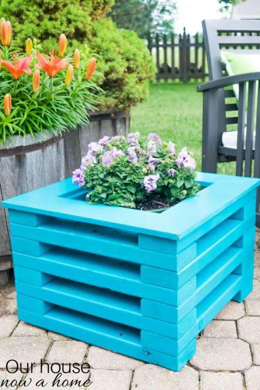 2x4 Wooden Planter by Our House Now a Home