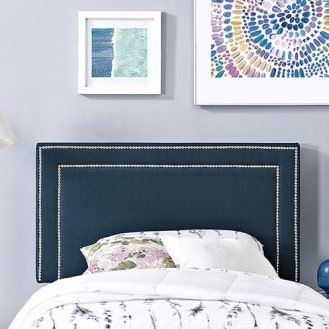 Gender Neutral Shared Kids Room Headboard