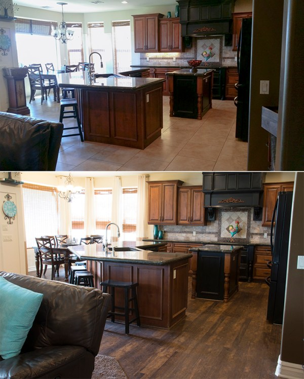 Kitchen Before And After Smaller