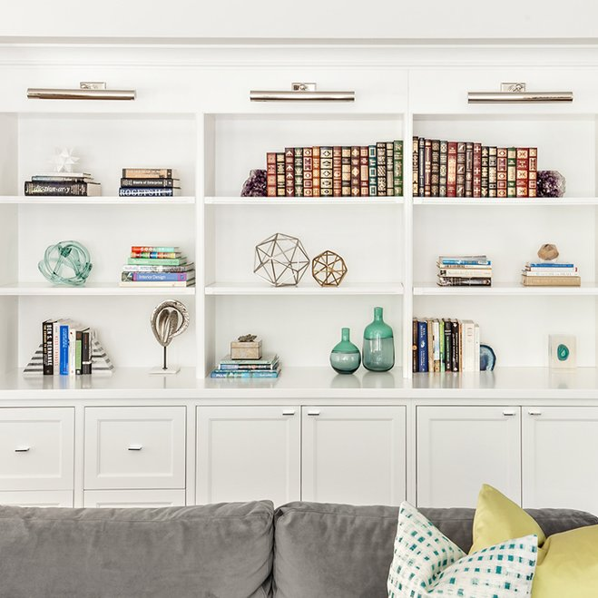 Bookshelf Via Clean Design Partners Wayfair