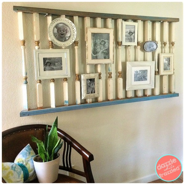 DIY Photo Gallery Wall Staircase Collage 5