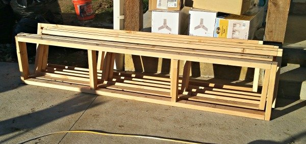 How To Build A Sliding Barn Door Console For Your Man Cave 3
