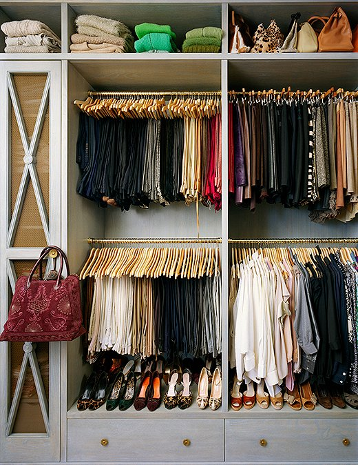 Organizing Closet Tips Photo By Annie Schlechter GMAimages Via One Kings Lane