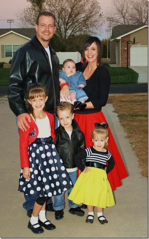 50's Family Costume