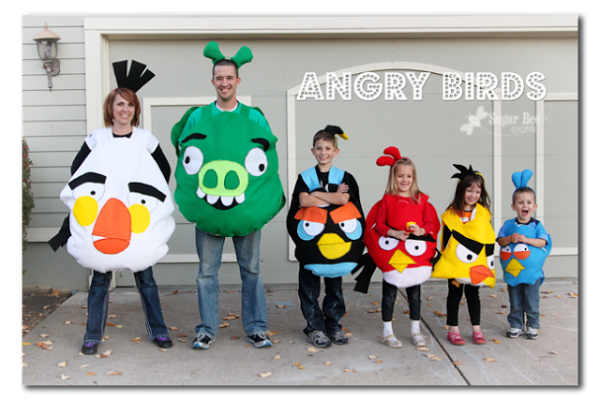 Angry Birds Sugar Bee Crafts