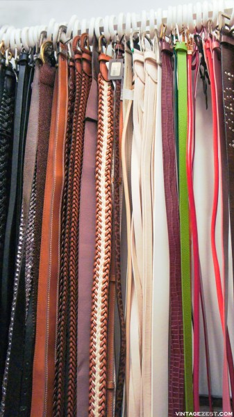 DIY Belt Organization On Diane's Vintage Zest! 7