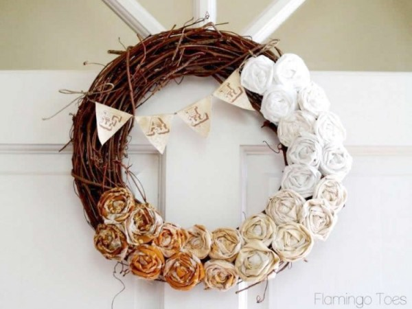 Fall Rosette Wreath 750x563