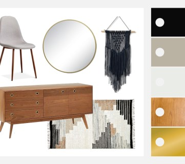 Mid-Century Modern Dining Room Decorating Tips and Ideas Featured Image