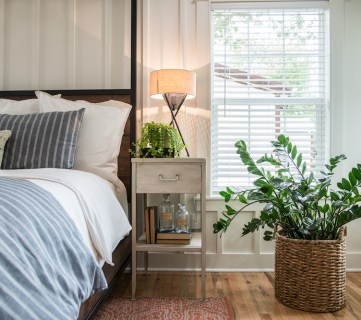 Get This Look: Fixer Upper Graham House Master Bedroom