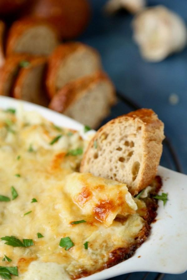 Artichoke Parmesan Dip 9 Remodelaholic