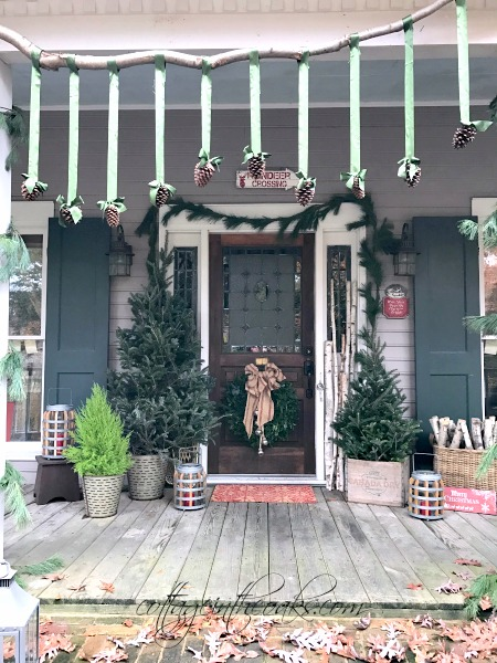Christmas Front Porch Ideas 1