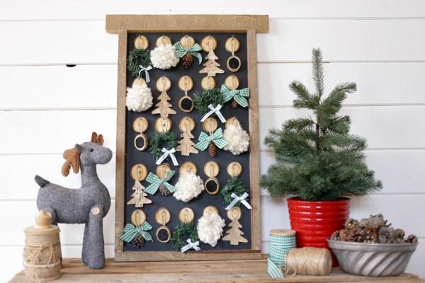 DIY Christmas Advent Calendar | This Mamas Dance For Remodelaholic 2