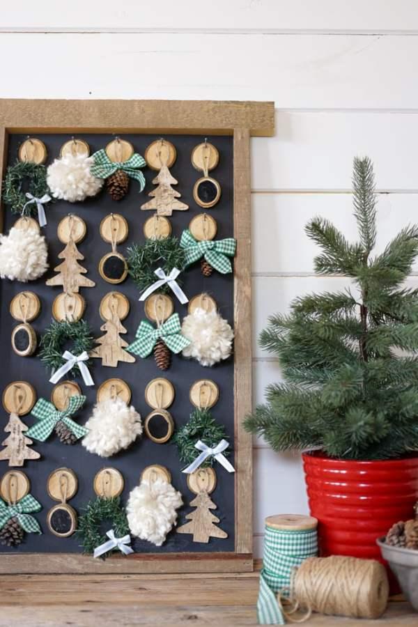 DIY Christmas Advent Calendar | This Mamas Dance For Remodelaholic 3