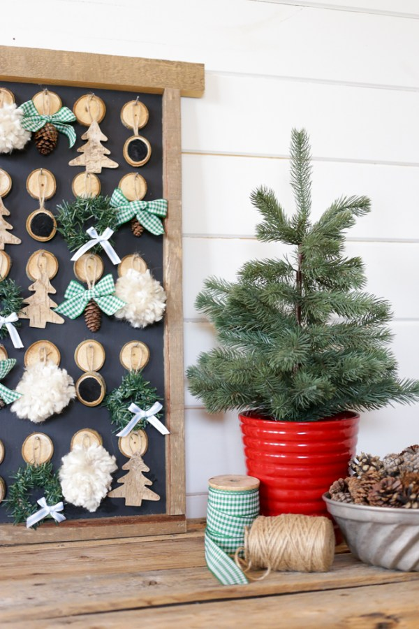 DIY Christmas Advent Calendar   This Mamas Dance For Remodelaholic 4