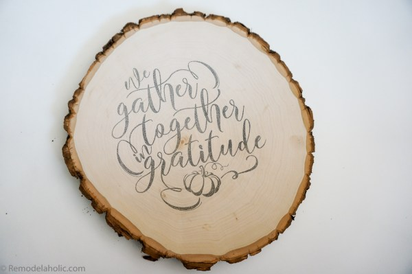 FREE Customizable Place Cards and Thanksgiving Printable Transfer
