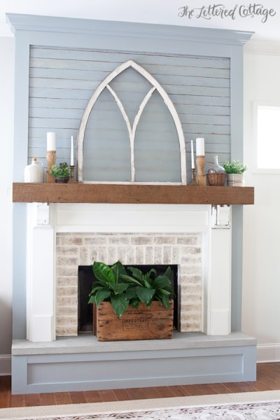 Fireplace Makeover After The Lettered Cottage