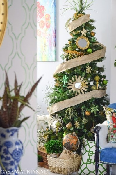 Global Eclectic Christmas Tree By Casa Watkins