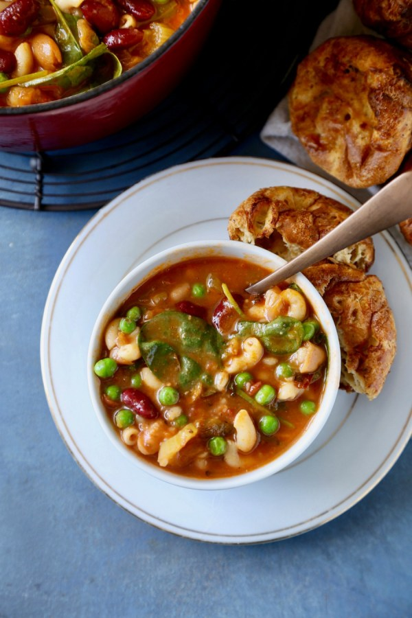 Minestrone Soup Remodelaholic 5