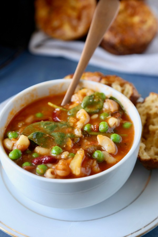 Minestrone Soup Remodelaholic 8