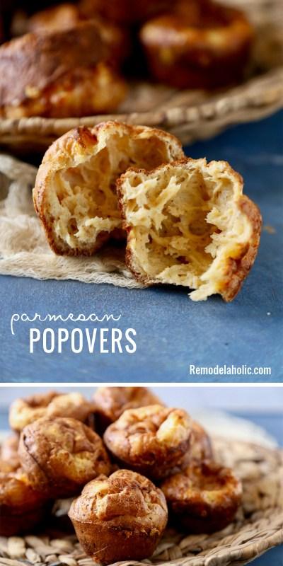 Parmesan Popovers Remodelaholic