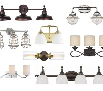 Bathroom Vanity Light Fixtures Under $85