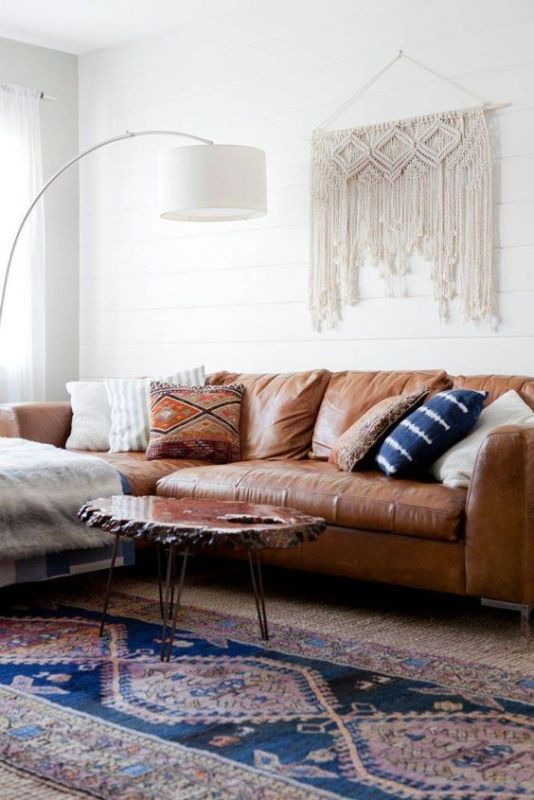 1 Room: Styled 3 Ways: Boho Living Room Mood Board by Postbox Designs Interior E-Design