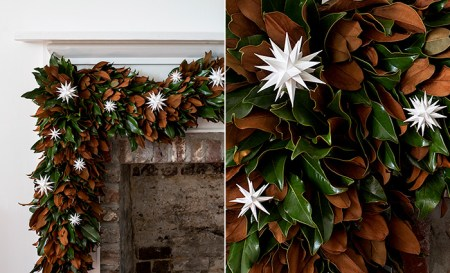 Gardenandgun.com Files Garland Moravian Star Ornaments 1