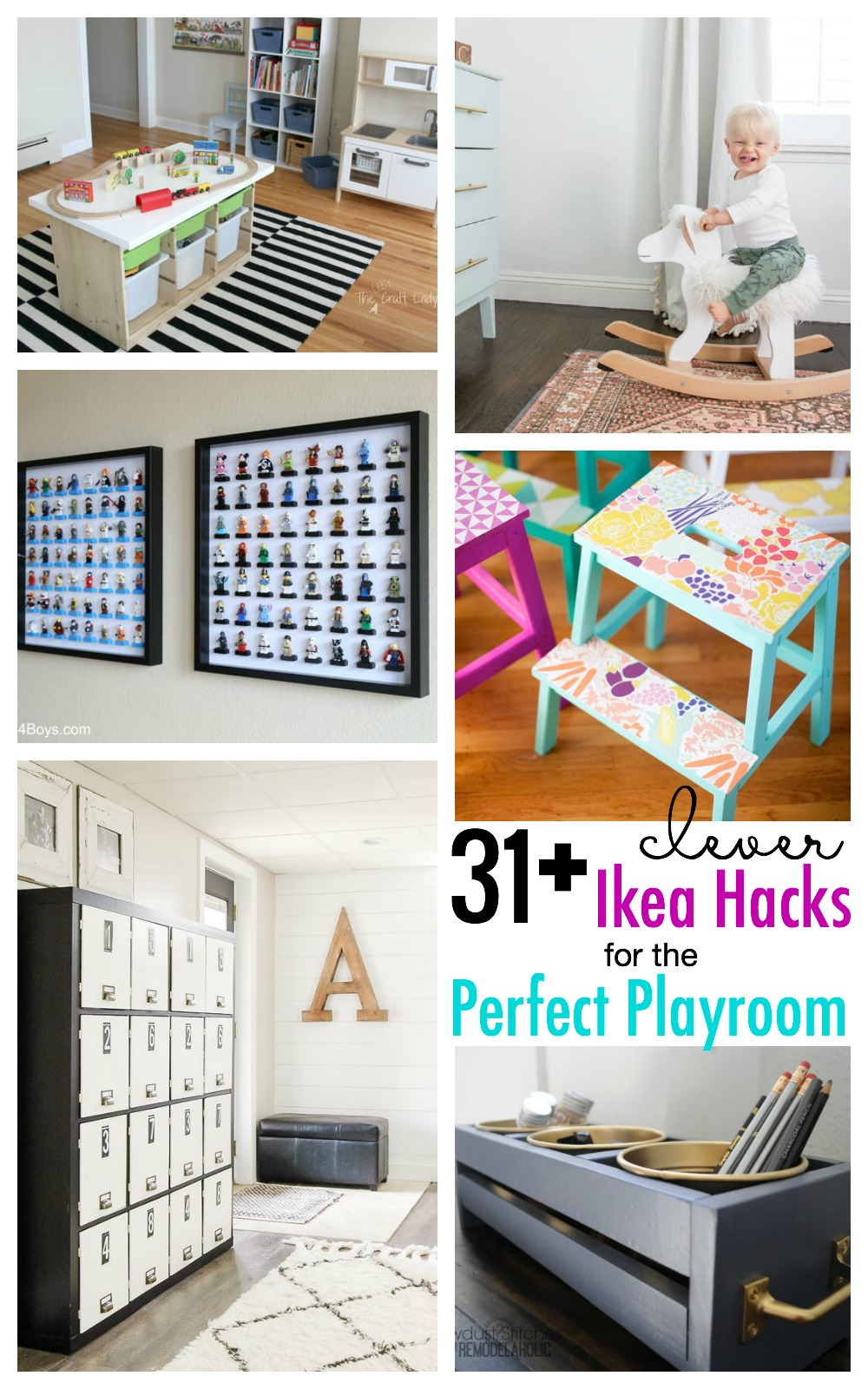 Time To Makeover The Playroom With These 30+ Clever IKEA Hacks For The  Playroom Featured
