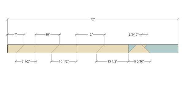 Remodelaholic Herringbone Tree Cut Diagram 2