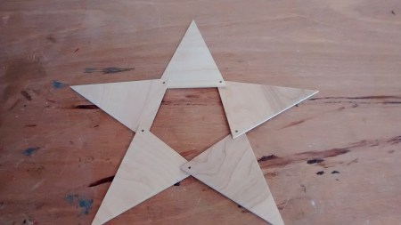 Remodelaholic Pennant Star Assembly (3)