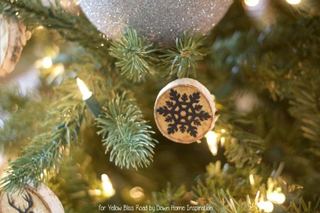 Wood Slice Ornaments 6