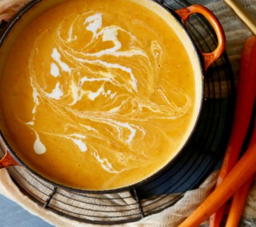 Carrot Soup Remodelaholic 2